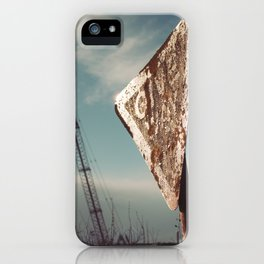i give way to cranes, do you?.. iPhone Case