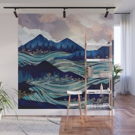Ocean Sunrise Wall Mural