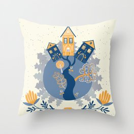 Scandinavian Dreams Throw Pillow