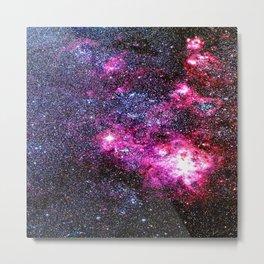 Tarantula Nebula Jewel Tones Metal Print