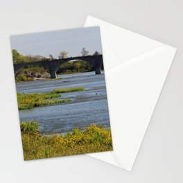 Sunkissed Maumee at Roche de Boeuf Stationery Cards