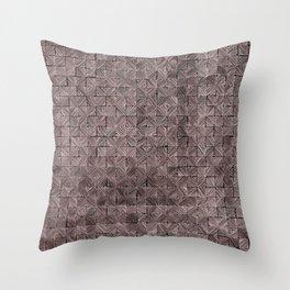 Ink Stitch: Rose Gold Throw Pillow