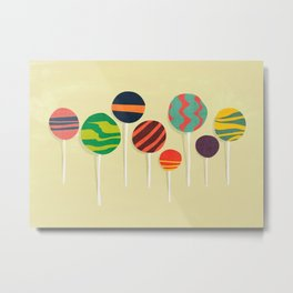 Sweet lollipop Metal Print