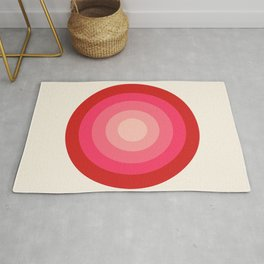 Keepin' on - 70's style retro vibes throwback minimal 1970s art decor gifts Rug