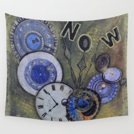 The Time is Always Now (or 11:11) Wall Tapestry