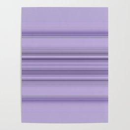 Pantone Purple Stripe Design Poster