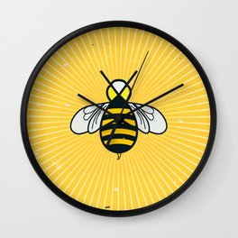 Don t worry – Bee happy – A Hell Songbook Edition Wall Clock
