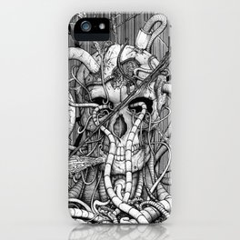 de hypterion I - The guardian - skull iPhone Case