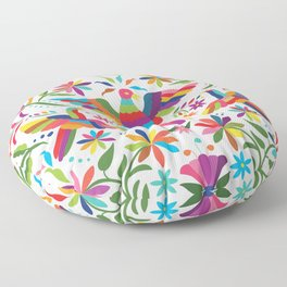 Mexican Otomí Design Floor Pillow