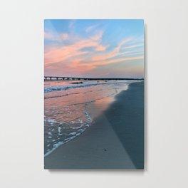 Shore Colors Metal Print
