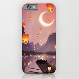 Lantern Festival  iPhone Case