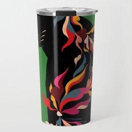 FIERCE FLOWER Travel Mug