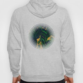 Rhapsody in Blue and Green and Gold Hoody