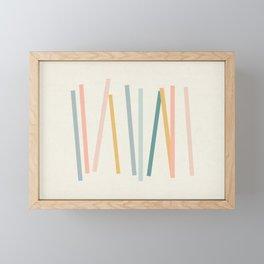 Sticks Framed Mini Art Print