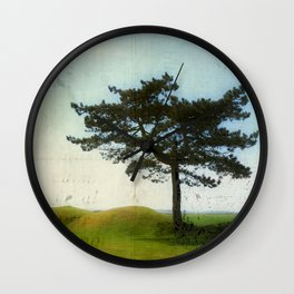 A tree at the Somme Wall Clock