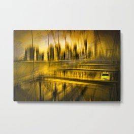 City-Shapes NYC Metal Print