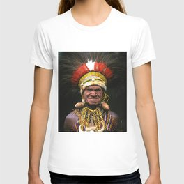 Papua New Guinea Chief's Headdress T-shirt