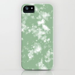 Olive clouds iPhone Case