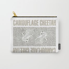 Camouflage Cheetah Carry-All Pouch