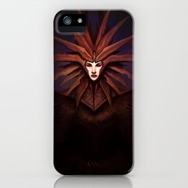 The Lady of Pain iPhone Case