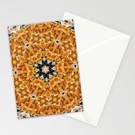 Mushroom mandala 6 Stationery Cards