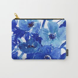 blue stillife Carry-All Pouch