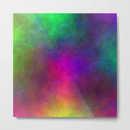 Explosive Color Metal Print