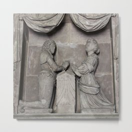 Monument To William Wentworth And His Wife Henrietta Metal Print