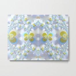 EB Flowers Metal Print
