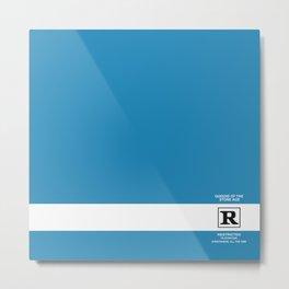 Rated R Metal Print