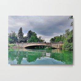 Black Creek Bridge Metal Print