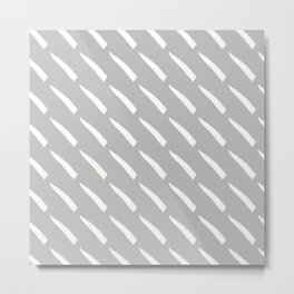 Strong lines pattern Metal Print