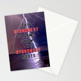 Strongest Roots: Motivation Stationery Cards
