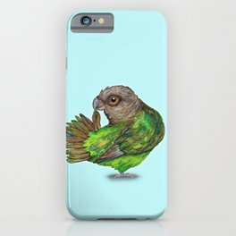 Brown-headed Parrot iPhone Case