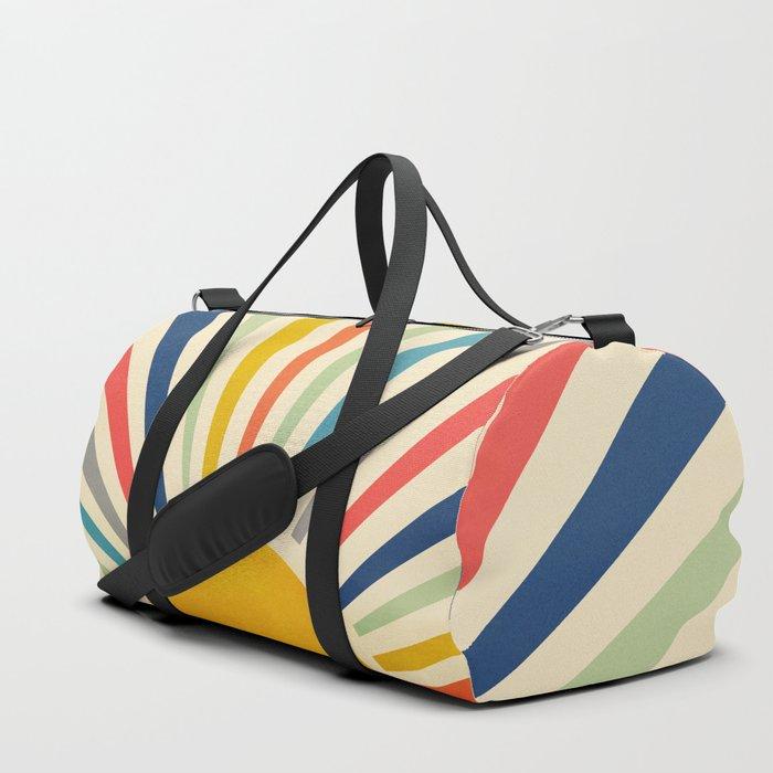 Sun Retro Art III Duffle Bag