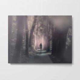 Into The Light Metal Print