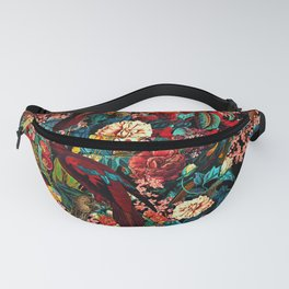 FLORAL AND BIRDS XVII Fanny Pack
