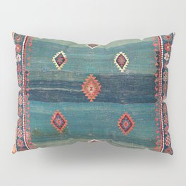 Sivas Antique Turkish Niche Kilim Print Pillow Sham
