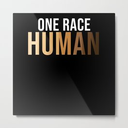 human Metal Print