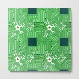 Neural Network 3 Metal Print