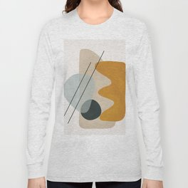 Abstract Shapes No.27 Long Sleeve T-shirt