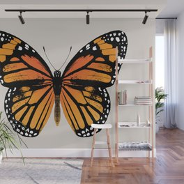 Monarch Butterfly | Vintage Butterfly | Wall Mural