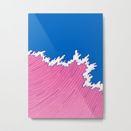 Sea Swell Metal Print