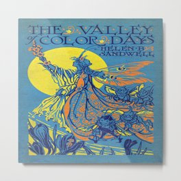 The Valley of Color Days Book Metal Print