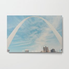 the gateway to the west ... Metal Print