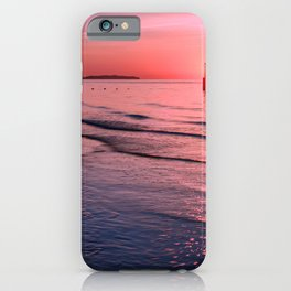 Seascape Sunset Wales iPhone Case