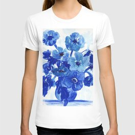 blue stillife T-shirt