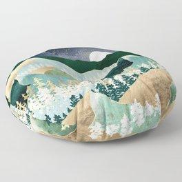 Spring Night Vista Floor Pillow