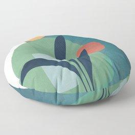 Minimal Abstract Shapes No.42 Floor Pillow