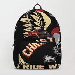 Christian Motorcycle Biker Gift Backpack